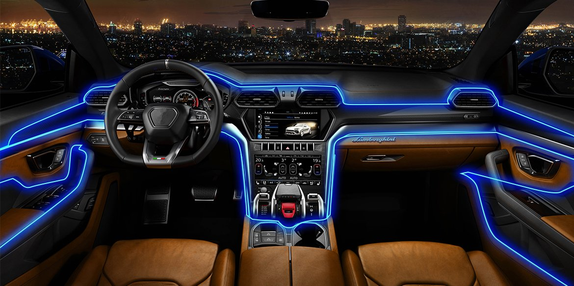 Add drama to your life with Accent lights in your car