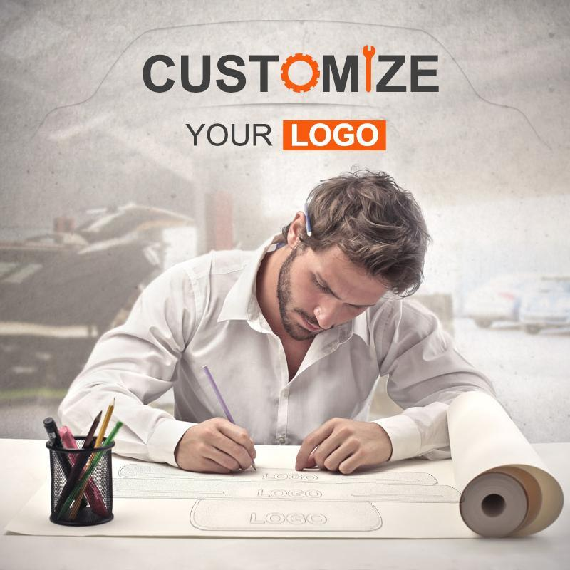 How to customize letters or logo for your model?