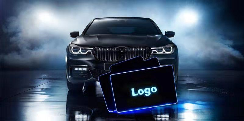 LED Foot Mats: Glam up the car interior with lighting foot mats