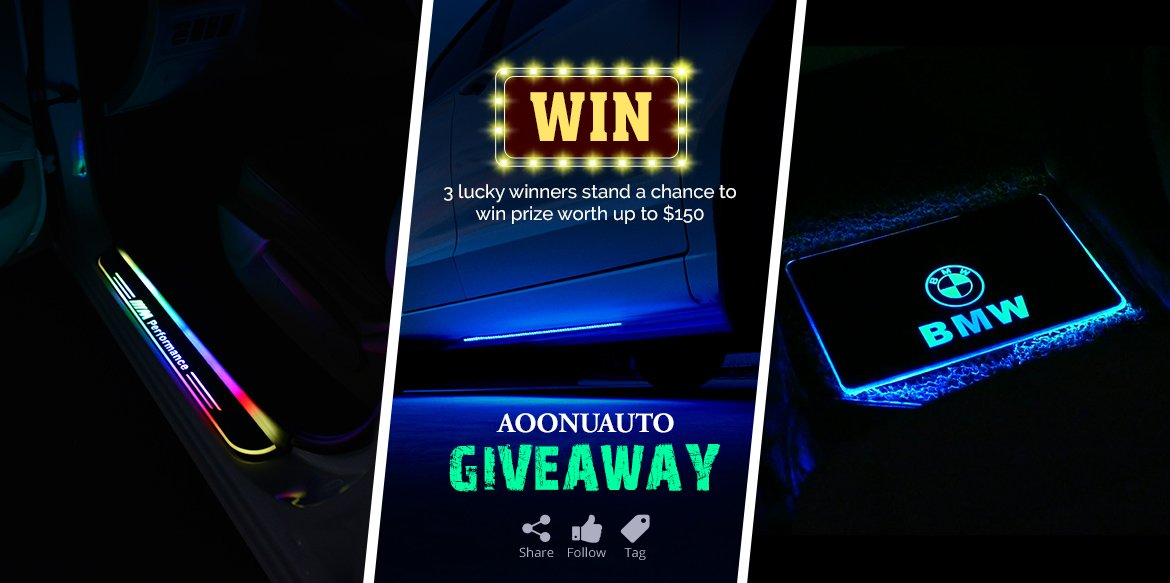 Giveaway Contest: Get a Chance to Win the 3 Best Car Accessories Absolutely Free