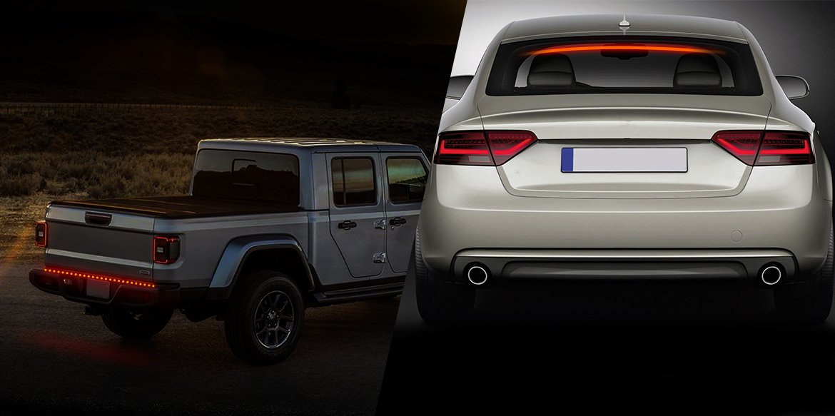 Difference Between Third Brake Light And Tailgate Light Bar