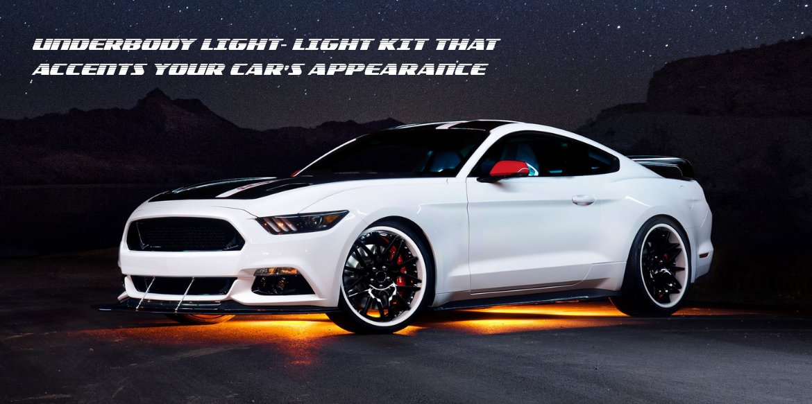 Underbody Light- Light kit that Accents your Car's Appearance