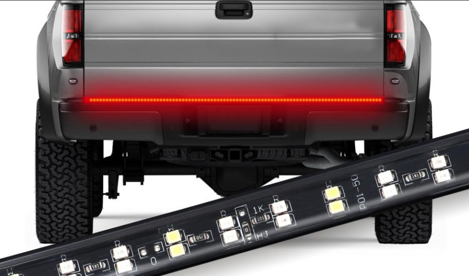 Truck Tailgate Light Bars Installation