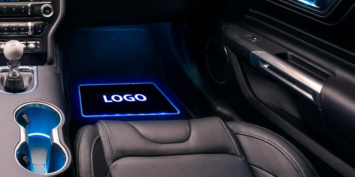 LED Floor Mats - Unique Accessories for Your Classic Car