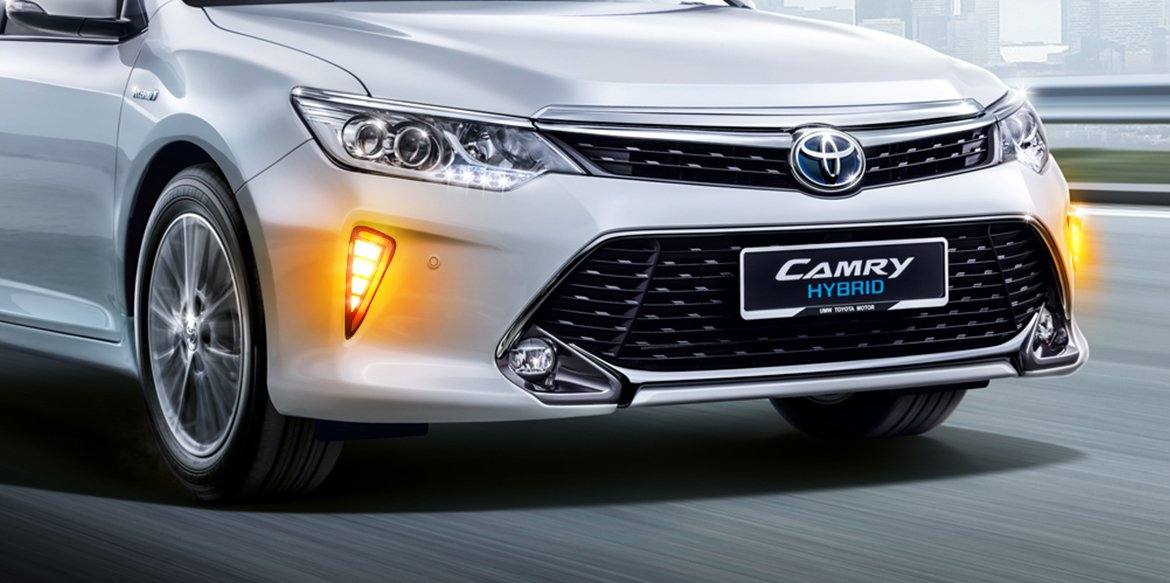 Savor the safety assured by Daytime Running Lamps