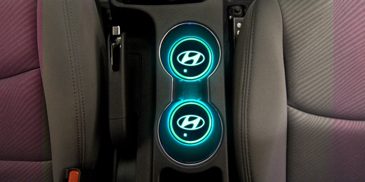 LED Cup Holders Making the Car Décor Mesmerizing by Adding Vibrant Colors