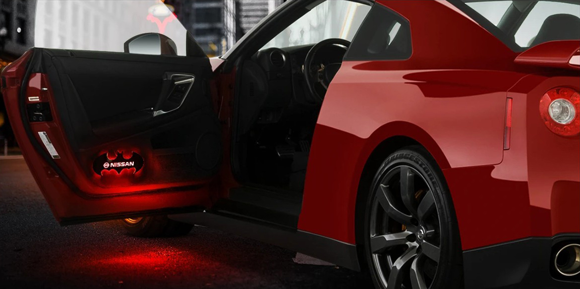 NEW LED Bat Lights: Give your car door a makeover