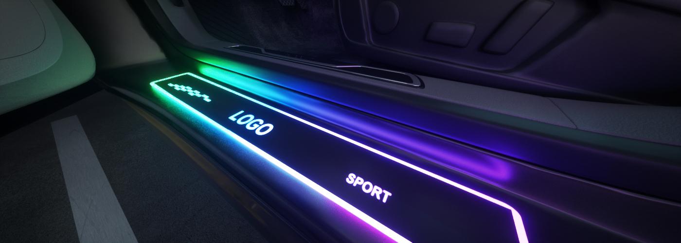 LED Door Sill