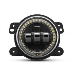 LED Fog Lights With White Halo Ring For JEEP Wrangler (OL-JF02AO)