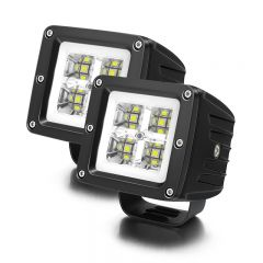 LED Light Pods Work Lights Auxiliary Lamps Spot Beam (TH-W0420C)