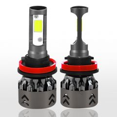 Mini6 H8 / H9 / H11 Led Headlight Bulbs Upgrade