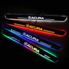 Acura Compatible Enhanced Car LED Door Sill Protector