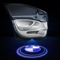 BMW Compatible Car Door LED LOGO Projector Light 2PCS