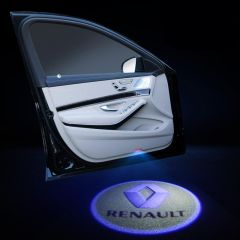 Renault Compatible Car Door Welcome LED Laser Projector  2 PCS