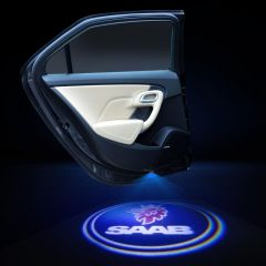 SAAB Compatible Car Door LOGO Laser Projector 2 PCS