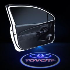 Toyota Compatible Car LED Door LOGO Projector Lights 2 PCS