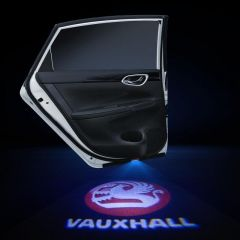 Vauxhall Compatible Car Door LED LOGO Projector Light 2 PCS