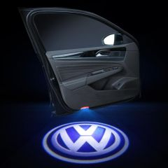 Volkswagen Compatible Car Door Lights With LOGO 2 PCS