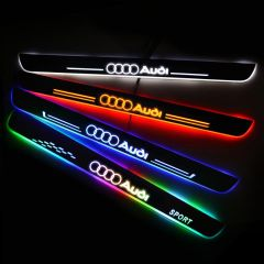 Audi Compatible LED Door Sill Scuff Plate