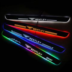 Bentley Compatible Customized Luminous Door Sills Guards
