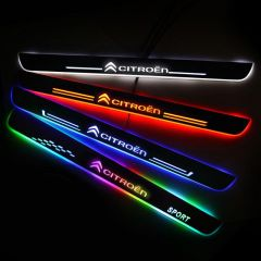 Citroen Compatible Customized LED Door Sills Guards