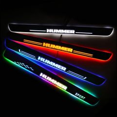 HUMMER Compatible LED Car Door Sill Welcome Pedal