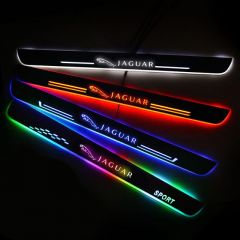Jaguar Compatible Enhanced Car LED Door Sill Protector