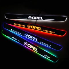 OPEL Compatible Car Customized Illuminated Door Sill Replacement