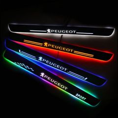 Peugeot Compatible Upgrade Led Door Sills Plate