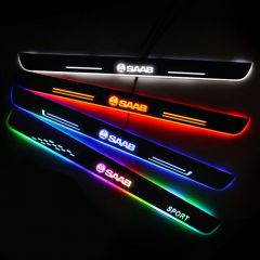 SAAB Compatible Customized Luminous Door Sill Pan