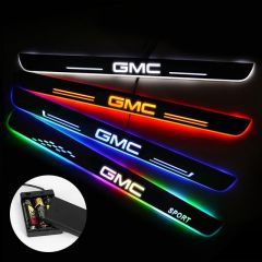 GMC Compatible Batteries Powered Lighted Door Sills Plate