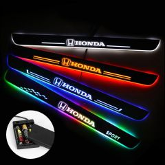 Honda Compatible Batteries Powered Illuminated Door Sills Trim