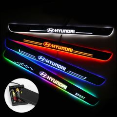 Hyundai Compatible Battery Powered LED Door Sills
