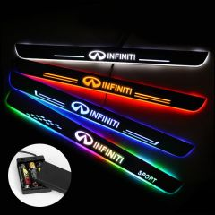 Infiniti Compatible Battery Powered LED Door Sill Protectors