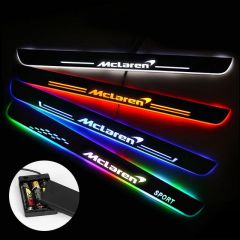 Mclaren Compatible Batteries Powered LED Door Sill Guard