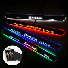 Nissan Compatible Batteries Powered Lighted Door Sill
