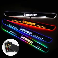 Renault Compatible Batteries Powered Lighted Door Sills Plate