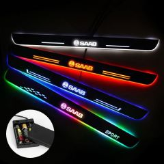 SAAB Compatible Batteries Powered Illuminated Door Sills Trim