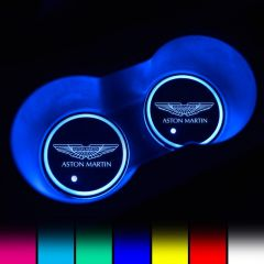 Aston Martin Compatible LED Car Cup Holder Lights
