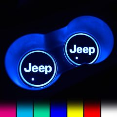 JEEP Compatible LED Car Cup Holder Coaster