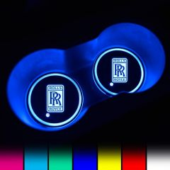 Rolls Royce Compatible LED Car Cup Holder Lights