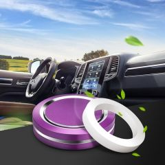 Purple New Disc Aromatherapy Box
