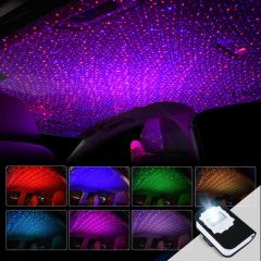 Colorful Car Interior Dynamic Starry Sky Projector Light - Super Version