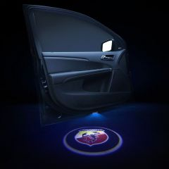 Abarth Compatible Welcome LED Laser Projector 2 PCS