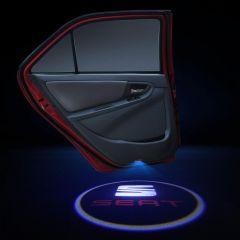 Seat Compatible Car Door Laser Projector Lights 2 PCS