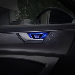 Audi Compatible LED Door Handle Bowl Decoration Ambient Light