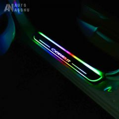 LED Illuminated Door Sills Pedal - Colorful 2 Front Doors