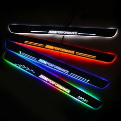 BMW Compatible Enhanced Car Led Door Sill Protector