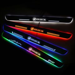 Buick Compatible Car Customized Illuminated Door Sill Replacement