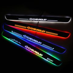 CHEVROLET Compatible Illuminated Door Sills For Car Light Modification